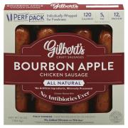 Gilbert's Bourbon Apple Chicken Sausage