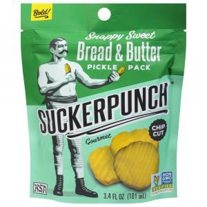 Sucker Punch Bread & Butter Chips