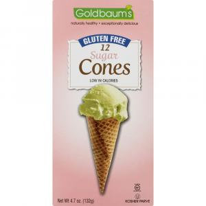 Goldbaum's Gluten Free Ice Cream Sugar Cones