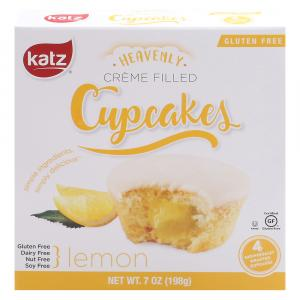 Katz Gluten Free Lemon Heavenly Creme Filled Cupcakes