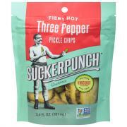 Sucker Punch Three Pepper Pickle Chips