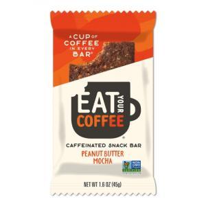 Eat Your Coffee Caffeinated Energy Bar Peanut Butter Mocha