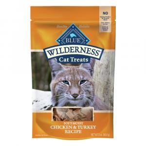 Blue Buffalo Wilderness Chicken & Turkey Recipe Cat Treats