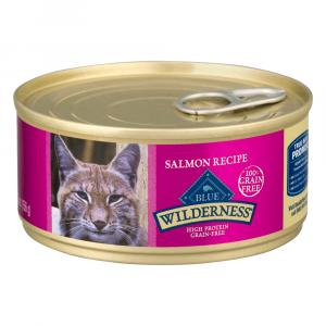 Blue Buffalo Wilderness Salmon Recipe Cat Food