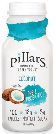 Pillars Drinkable Greek Yogurt Coconut
