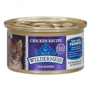 Blue Buffalo Wilderness Chicken Kitten Food