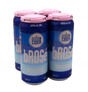 Citizen Cider Brose Cider Co-Fermented with Blueberries