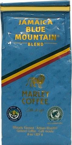 Marley Coffee Jamaica Blue Mountain Blend Ground Coffee