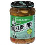 SuckerPunch Gourmet Pickles Spicy Bread N' Better