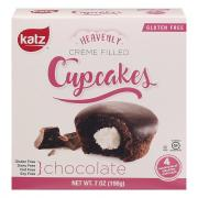 Katz Gluten Free Chocolate Heavenly Creme Filled Cupcakes