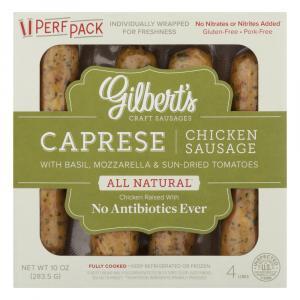 Gilbert's Caprese Sausage