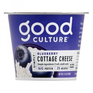 Good Culture Simply Cottage Cheese with Blueberry