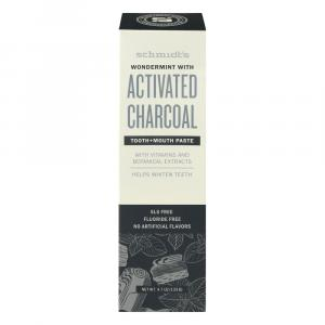 Schmidt's Wondermint with Activated Charcoal Toothpaste