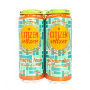 Citizen Seltzer Ginger Love