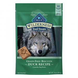 Blue Buffalo Wilderness Trail Treats Duck Recipe Biscuits