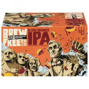 21st Amendment Brewery Brew Free or Die Blood Orange IPA