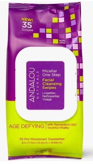 Andalou Naturals Age Defying Facial Cleansing Swipes