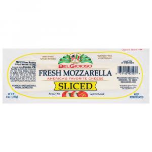 BelGioioso Fresh Sliced Mozzarella Log