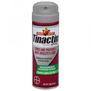 Tinactin Athlete's Foot Deodorant Powder Spray