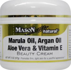 Mason Natural Marula Oil Argan Oil Aloe Vera & Vitamin E