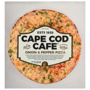 Cape Cod Onion and Peppers Pizza