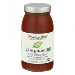 Organico Bello Organic Kale Tomato Basil Pasta Sauce