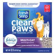 Fresh Step Febreze Multi-Cat Clean Paws Cat Litter