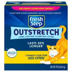 Fresh Step Febreze Outstretch Clumping Cat Litter
