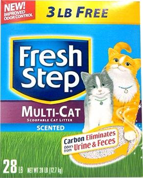 Fresh Step MultiCat Litter Bonus
