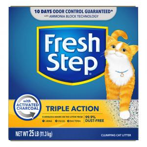 Fresh Step Triple Action Scented Cat Litter