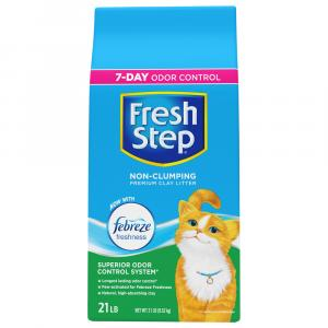 Fresh Step Febreze Non Clumping Cat Litter