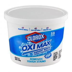 Clorox Oxi Max Radiant White Dry Bleach