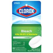 Clorox Toilet Bowl Cleaner Auto Bleach 2 Tabs