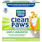 Fresh Step Clean Paws Unscented Cat Litter