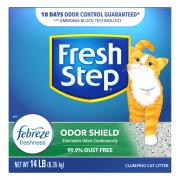 Fresh Step Scoop Cat Litter Odor Shield