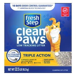 Fresh Step Triple Action Clean Paws Cat Litter