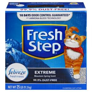 Fresh Step Exreme Odor Control Cat Litter