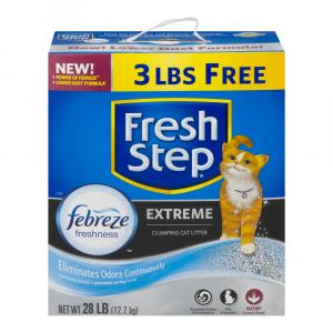 Fresh Step Extreme Scoopable Cat Litter Scented