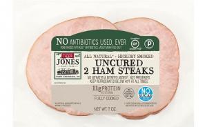Jones Uncured Antibiotics Free Ham Steaks
