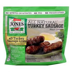 Jones Turkey Sausage Links Fully Cooked