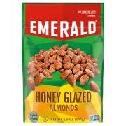 Emerald Honey Glazed Almonds