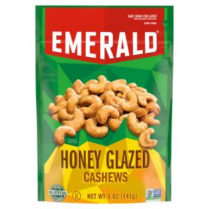Emerald Honey Glazed Cashews
