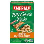Emerald 100-Calorie Cashew Halves & Pieces
