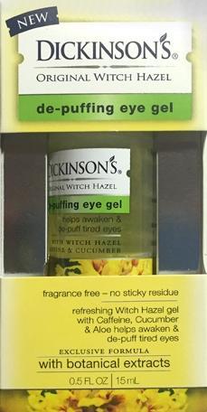 Dickinson's Depuffing Eye Gel