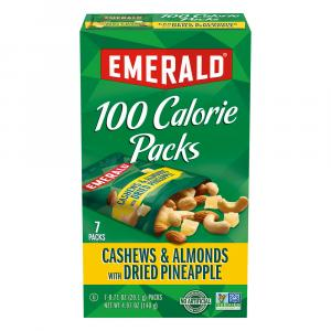 Emerald 100 Calorie Cashews & Almonds with Dried Pineapple