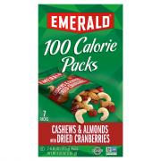 Emerald 100-Calorie Cashew Almonds and Dried Cranberries