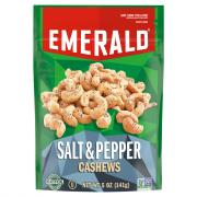 Emerald Salt & Pepper Cashews