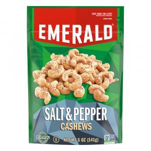 Emerald Salt & Pepper Cashews