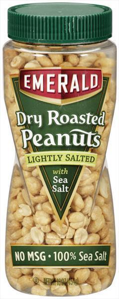 Emerald Low Salt Dry Roasted Peanuts