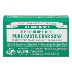Dr. Bronner's Almond Bar Soap